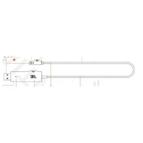 Câble adaptateur USB JBL Quantum 200 et Quantum 300