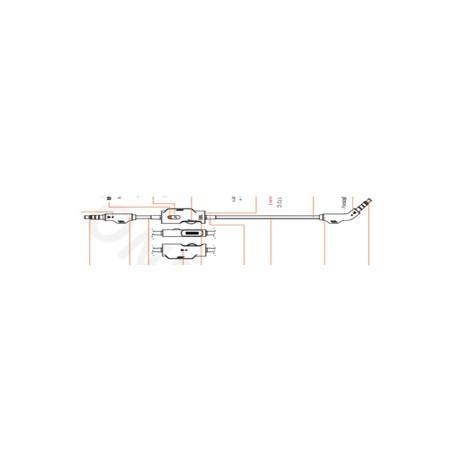Câble audio 3.5 JBL Quantum 400 et 600