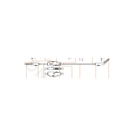 Câble audio 3.5 JBL Quantum 600